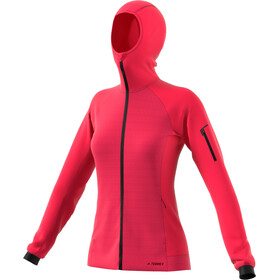 adidas TERREX Stockhorn Hooded Jacket Damen active pink